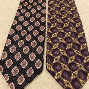 Brand new stylish ties by JOS A BANK